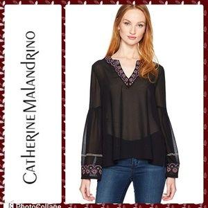 NWOT.  Catherine Malandrino blouse